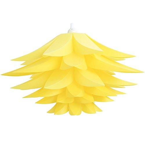 Sorive® DIY Lotus Chandelier IQ PP Pendant Lampshade Ceilin