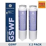 2 Pack. New Genuine GE Gswf General Electric Refrigerator Water Filter Cartridge