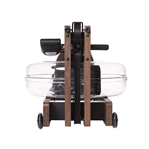 Incline Fit Wood Water Rowing Machine with Monitor, Walnut by Incline Fit (Image #4)
