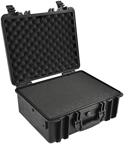 Elephant E230 Case with Foam for Camera, Video, Guns, Test and Metering Equipment Waterproof Hard Plastic Case