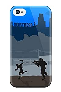 Ideal Jonathan J Harris Case Cover For Iphone 4/4s(team Fortress 2), Protective Stylish Case by icecream design