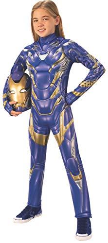 Girls Iron Man Costume (Rubie's Marvel Avengers: Endgame Child's Deluxe Rescue Costume & Mask,)