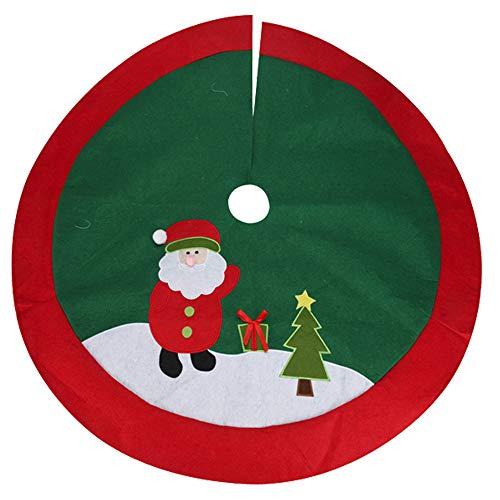 URBNLIVING - Falda para árbol de Navidad (100 cm): Amazon.es: Hogar