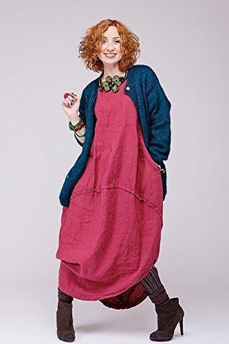 Boho pure linen dress by Lumiwood