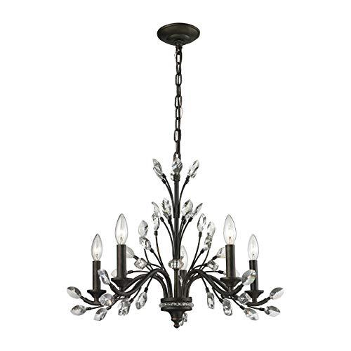 (ELK Lighting 11775/5 Chandelier One Size Bronze )