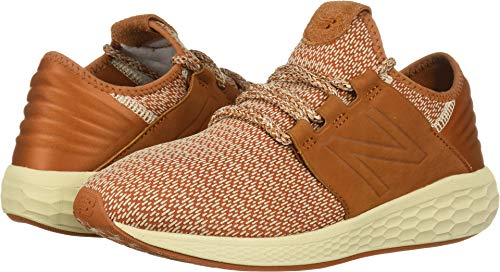 New Balance Men's Cruz V2 Fresh Foam Running Shoe, canyon/hemp/faded birch, 1.5 2E US by New Balance (Image #3)