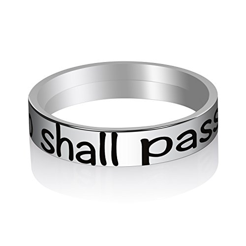 Personalized Inspirational Rings for Girls (this too shall pass, - Pass Car Steel