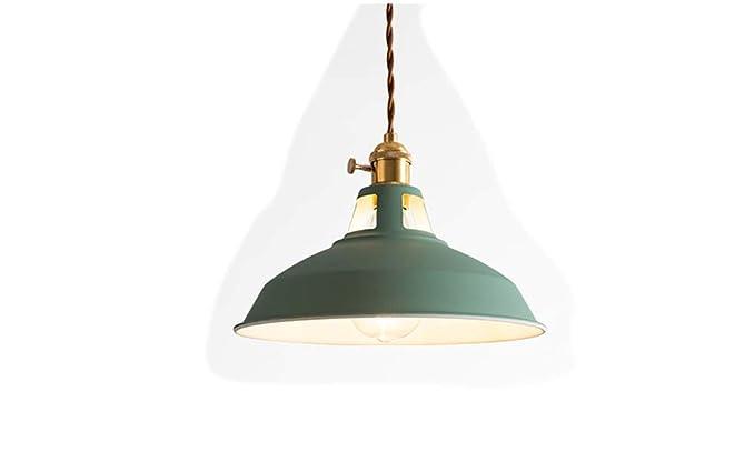 Amazon.com: Jorunhe - Lámpara de techo colgante de metal E27 ...