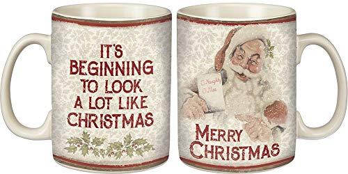 Primitives By Kathy Merry Christmas Mug