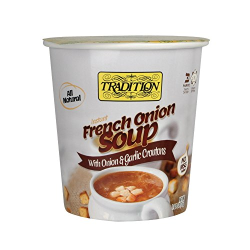 Tradition Instant French Onion Soup with and Garlic Croutons Cup, 1.02 Ounce (Pack of 12)