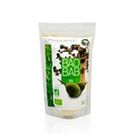 Baobab en polvo Orgánico - alta concentración de Fibra y Vitamina C - Comercio Justo | 150g | Ethnoscience: Amazon.es: Salud y cuidado personal