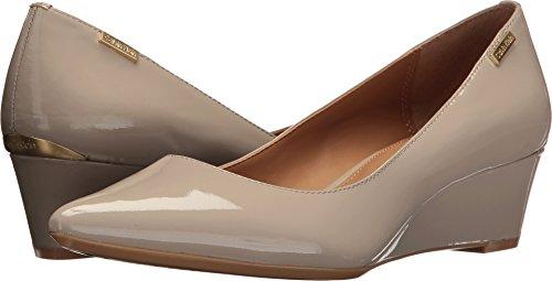 Calvin Klein Wedge (Calvin Klein Women's germina Clay Patent 8.5 M US)