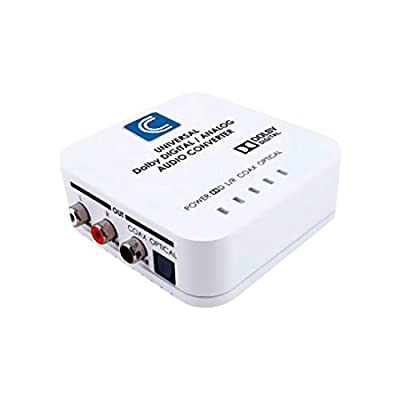 Comprehensive Cable CCN-ADDA Universal Digital/Analog Audio Converter with Dolby Digital Decoder