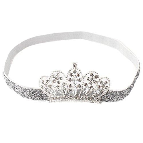 PIKABOO Boy s Silver Sparkly Tiara Headband Hair Accessories  Amazon.in   Clothing   Accessories 05e34bdcf064