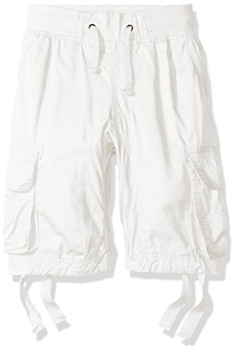 Southpole Big Boys' Jogger Shorts with Cargo Pockets in Basi