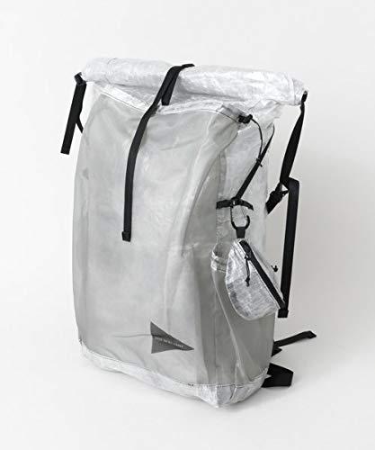 [アーバンリサーチ] リュック バックパック and wander CUBEN FIBER BACKPACK メンズ One Size ホワイト B07NDXTB92