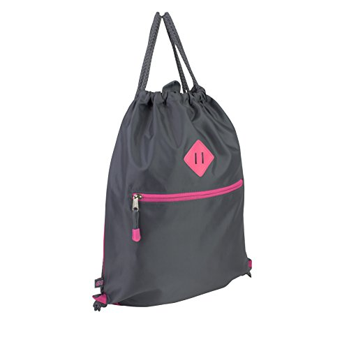 Eastsport Drawstring Sackpack, Graphite by Eastsport