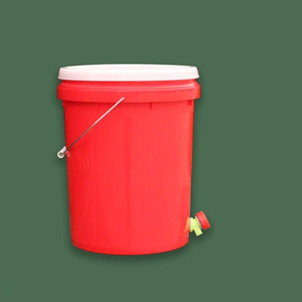 Kai Xin 20L Compost Papelera de Reciclaje compostador orgánico Hecho en casa Bote de Basura del Cubo del jardín de Cocina Alimentación Papeleras (Color : C): Amazon.es: Hogar
