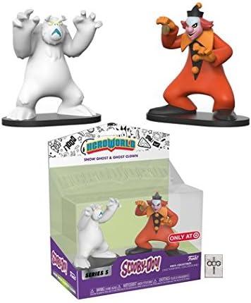 Target Exclusive Series 5 Funko Hero World - Snow Ghost /& Ghost Clown Scooby-Doo