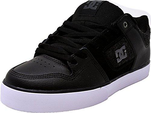 DC Men's Pure SE Skate Shoe, White, 10.5D D US