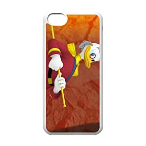 iPhone 5C Phone Case White An Adventure In Color Ludwig Von Drake YU9390284