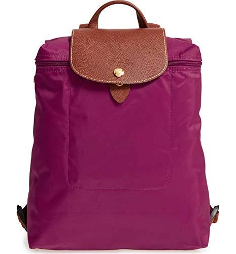 123321fa1131 Galleon - Longchamp Le Pliage Ladies Medium Dahlia Nylon Backpack  L1699089P10