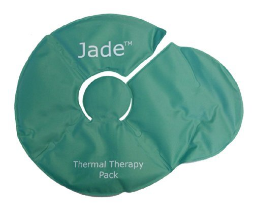 """JadeGelPack Small Hot and/or Cold relief 8.5x11"""" washable, r"""
