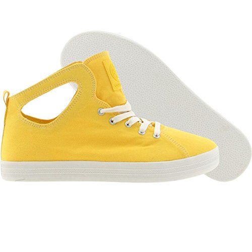 Gourmet Men's Uno C Lace-Up Sneaker,Yellow/ White,13 M US (Gourmet C)