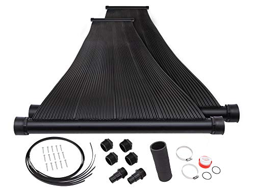 SunQuest 2-2'X10′ Solar Swimming Pool Heater (2-2'X10′ with Roof kit)