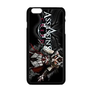 Cool Painting Assassin's Creed Fashion Comstom Plastic case cover For Iphone 6 Plus