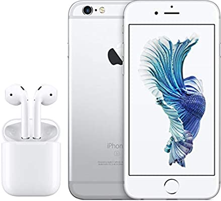 wholesale dealer a1739 72f19 Apple iPhone 6S with FaceTime - 64GB, 4G LTE, Silver with Apple ...