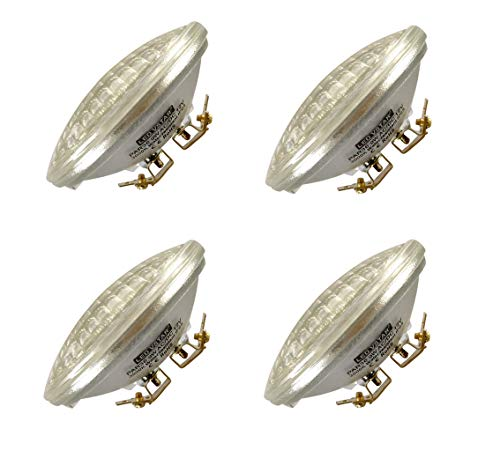 Vstar LED PAR36 9W (Eq to 50W Halogen) 12V AC/DC Lamp Landscape Waterproof (4 Pack-Warm White) 12v Ac Halogen Lamps