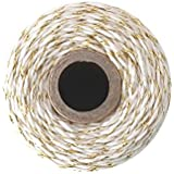 Bakers Twine - 240 Yards 4 ply Cotton (Gold Metallic)
