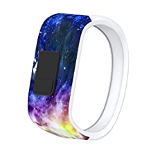 Bands for Garmin vivofit JR Strap,Kingfansion Silicone Sport Replacement Bands Small Large Accessory for Garmin vivofit JR Watch