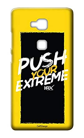 Amazon.com: Mobile Back Cover-Push Your Extreme Quote for ...