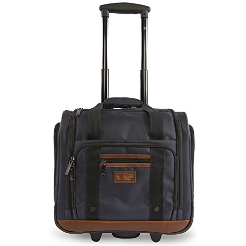 ORIGINAL PENGUIN Wheeled Under The Seat Carry On Bag-16