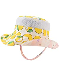 df8e17bc7870a Baby Sun Hat Double Sides - Toddler Sun Hat UPF 50+ Kids Summer Play Bucket