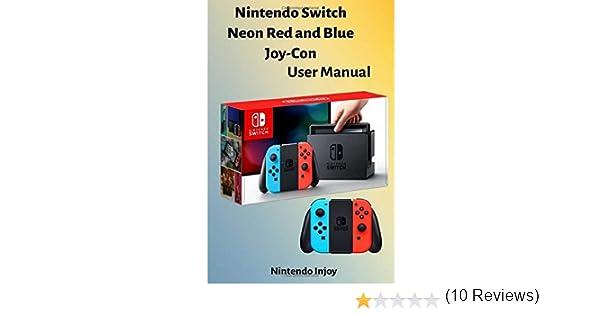 Switch Neon Red and Blue JoyCon by Nin tendo Users Manual: TNADU ...