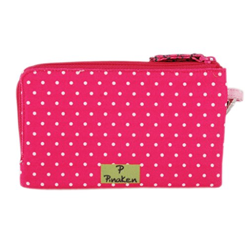 Wristlet removable clutch travel bag purse money pouch wallet organizer by Pinaken (Image #2)