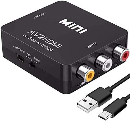 HDMI auf AV RCA CVBS Konverter Von Digital zu Analog Adapter HDMI2AV Konverter