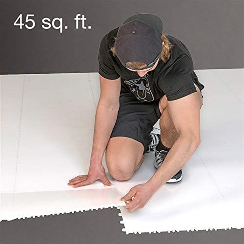 Better Hockey Dryland Flooring Tiles 20-Pack - 45 sq. ft. Hockey Shooting Tiles
