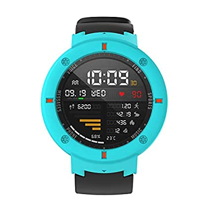 SIKAI Protective Bumper Cover Compatible with Amazfit Verge Case Anti-Scracth Ultra Light Multi-Colors PC Case for Amazfit Verge 3rd Gen Smartwatch ...