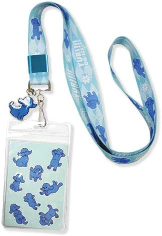 on ICE  Lanyard Neck Strap /& ID Badge Mobile Phone Charms Key Chain New Yuri!!