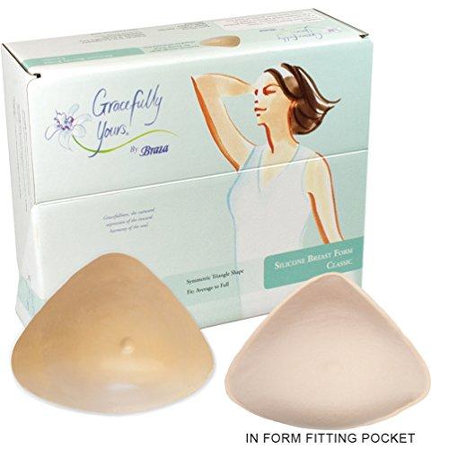 Braza - Foam Mastectomy Breast Form (4) (Post Mastectomy Breast Forms)