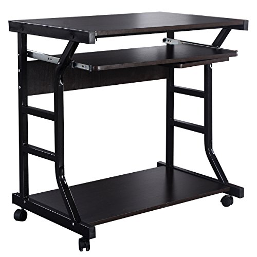 Desk Computer Table Home Office Furniture Workstation Laptop Student Study New Costway