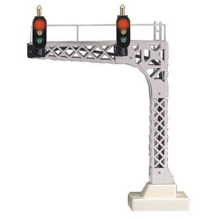 MTH Electric Trains O Cantilevered Signal Bridge