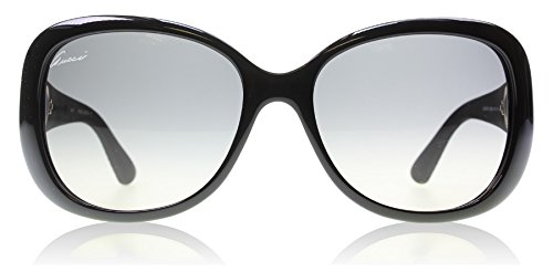 Gucci 3787S LWD Black Rubber 3787S Butterfly Sunglasses Lens Category 2