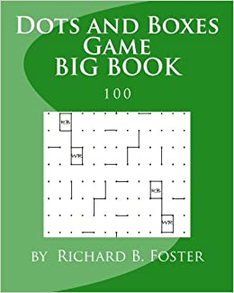 Dots and Boxes Game BIG BOOK: 100: Volume 1