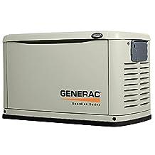 Generac 6721 Guardian Home Standby Generator, Aluminum Enclosure, No Transfer Switch
