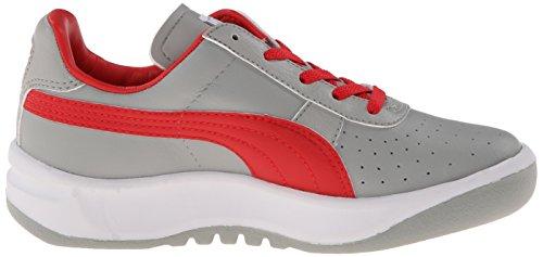 GV Limestone JR PUMA Sneaker Special Kid Gray Red Big Risk Kid High White Little 6wpqdpB